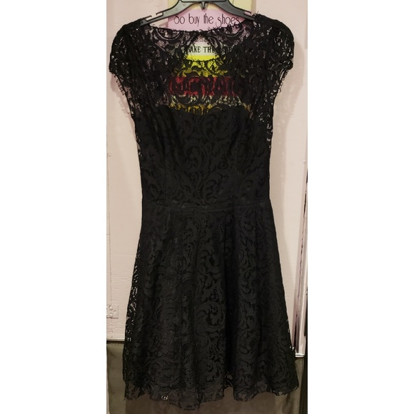 ABS Allen Schwartz Dresses & Skirts - ABS black lace dress